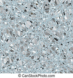 Silver mosaic background. EPS 8 vector file included