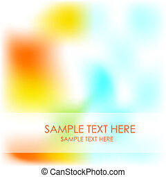 Blurred shiny nature vector background