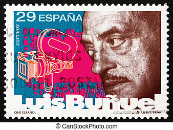 Postage stamp Spain 1994 Luis Bunuel, Director - SPAIN -...
