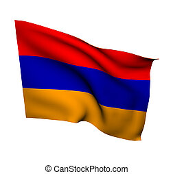 armenia - flag of armenia