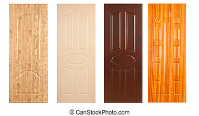 A collection of wooden panels