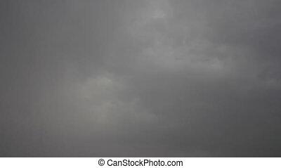 Raindrops from sky