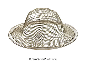 Sink strainer - A new sink strainer on a white background