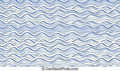 abstract waves - Seamless background of abstract waves