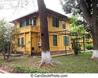 Ho Chi Minh's Residence from 1954 till 1958 in Hanoi, Vietnam.