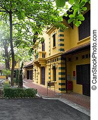 Ho Chi Minhs Residence from 1954 till 1958 in Hanoi, Vietnam...
