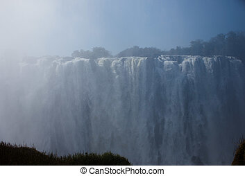 Victoria Falls Up Close 3 - Zambezi River and Victoria Falls...