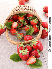 heap of strawberry
