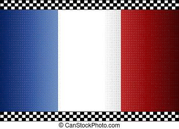 Carbon Fiber Black Background France