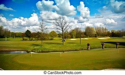 golf club by spring