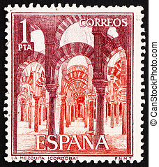 SPAIN - CIRCA 1964: a stamp printed in the Spain shows...