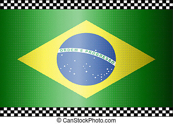 Carbon Fiber Black Background Brazil