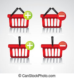 purchase baskets, to virtual store