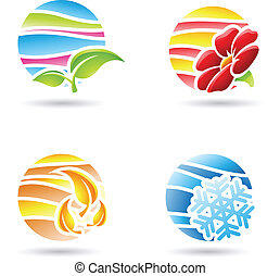 Seasons Icons