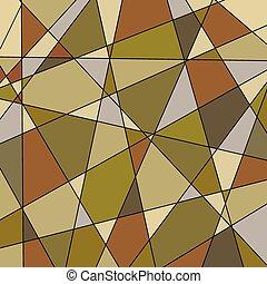 Extracto, Plano de fondo, marrón