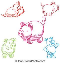 Pig Set