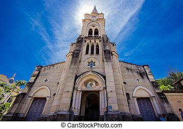 Igreja do Rosrio, Cidade de Gois, Brasil