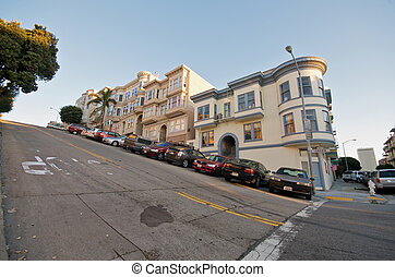 San Francisco Neighborhood - Telegraph Hill Neighborhood in...