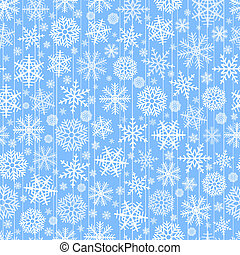 christmas background - Blue seamless christmas background of...