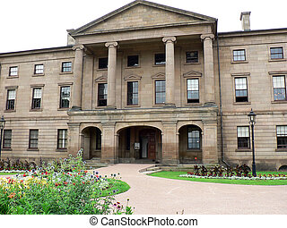 Confederation Building in historic Charlottetown PEI