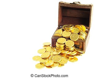 Lot of  gold coins