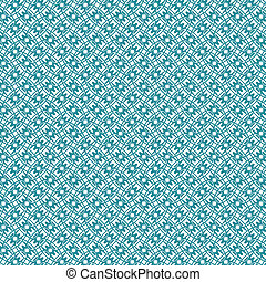 Vector illustration of an abstract monochrome geometrical seamless pattern