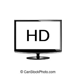 High definition lcd TV