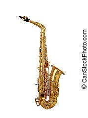 saxofon, osamocený, Neposkvrněný