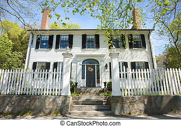 Old colonial home - Old Concord colonial home dating from...