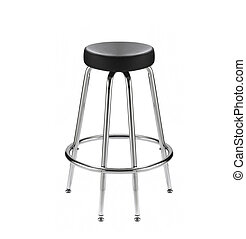 chair for a bar isolated - chair for a bar on a white...