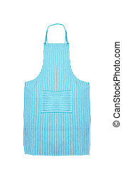 female apron isolated on white background