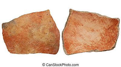 Anasazi clay pottery shard - Arizona Anasazi pottery shard,...