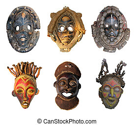 African masks - The original African masks, made ??the...
