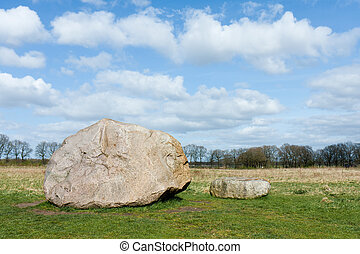 Megalith stones in the Netherlands These stones are...