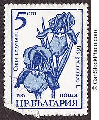 Postal stamp - BULGARIA - CIRCA 1985: A post stamp printed...