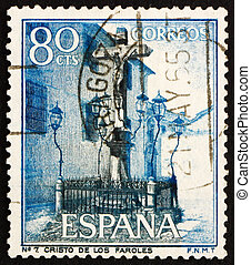 Postage stamp Spain 1964 Christ of the Lanterns, Cordova -...