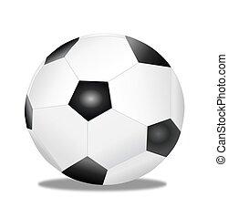 Soccer Ball w/Shadow
