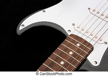 Electric guitar, beautiful string instrument