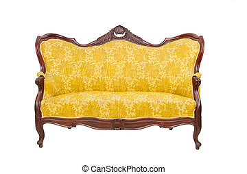 Luxury vintage sofa