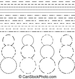 Dotted line Illustrations and Clip Art. 11,988 Dotted line royalty ...