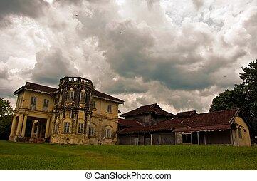 abandon mansion in Kuala Kangsar Malaysia