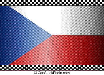 Carbon Fiber Black Background Czechia
