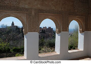 Generalife, Alhambra Palace, Spain.