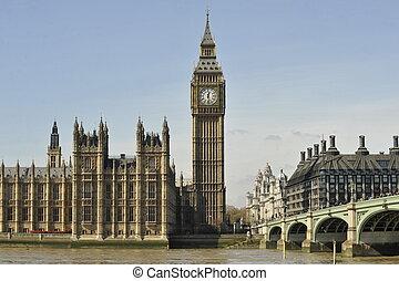 grande, Casas, Parlamento,  Ben, y