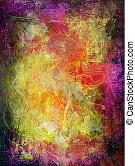 abstract background grunge - abstract painting - created by...