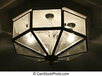 OVERHEAD LIGHT FIXTURE