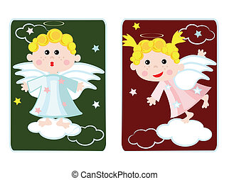 Cards with angels