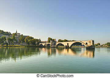 Not Repaired - The Popes Bridge - The Popes Bridge from the...