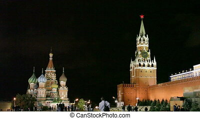Red Square October 01, 2011 in Moscow, Russia.
