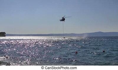 Fire fighter chopper